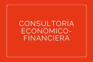CONSULTORÍA ECONÓMICO-FINANCIERA  Servicios de consultoría/asesoría en materia económica-financiera, asesoramiento fiscal, auditoría de empresas y gestión contable. Igualmente este área integra el análisis de inversiones económicas y la gestión financiera de las mismas, así como la gestión y optimización de capital privado mediante análisis de inversión en instrumentos de mercado financiero. Tramitación de instrumentos de financiación externa (préstamos personales, hipotecas, créditos, etc.).