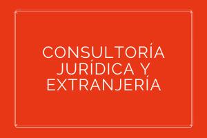 CONSULTORÍA JURÍDICA Y EXTRANJERÍA  Prestación de servicios jurídicos para el conjunto de sus actividades empresariales o personales, contando con un equipo de abogados especializados en diferentes materias que pueden atender las demandas que el cliente necesite en cualquier momento.